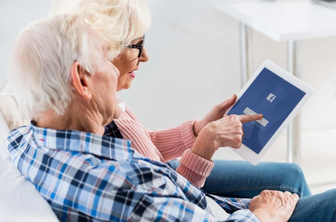 Marketing senior living through social media